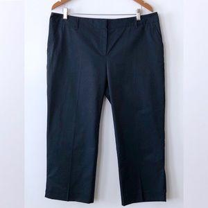 Tex Maxazria Capri Pants Flap Back Pockets Blue 10